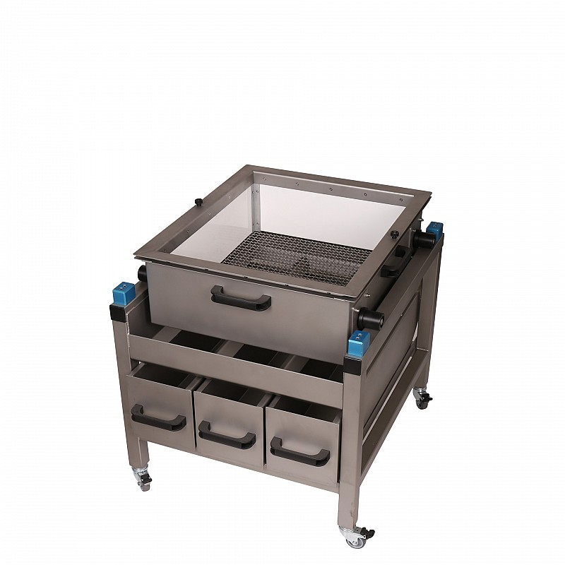 manual separating unit without sieves