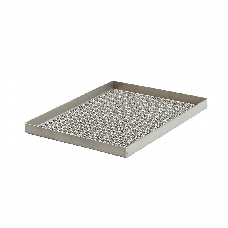 stainless steel sieves (4x4, 6x6; 8x8; 10x10; 12x12; 14x14; 16x16 mm)